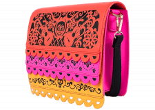 Loungefly: Coco Die Cut Party Flags Crossbody Bag