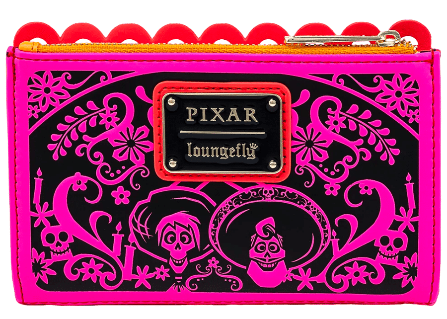 Loungefly: Coco Die Cut Party Flags Wallet