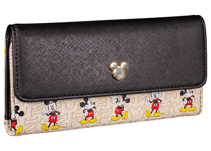 Loungefly: Mickey Mouse Embossed Leather Flap Wallet