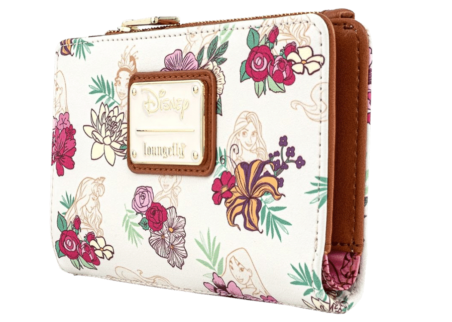 Loungefly: Disney Princess Floral Wallet