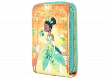 Loungefly: Princess and the Frog Tiana Accordian Wallet