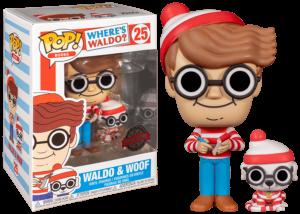 Funko Pop! Where's Waldo? Waldo and Woof #25