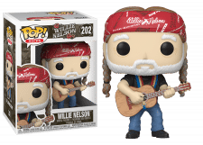 Funko Pop! Rocks: Willie Nelson #202