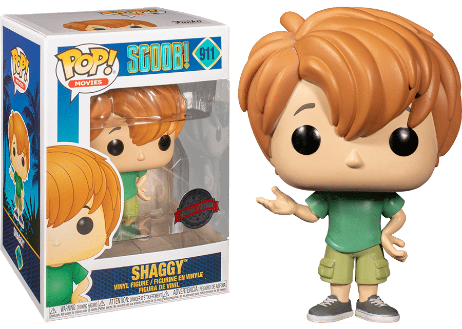 Funko Pop! Scoob! Young Shaggy #911