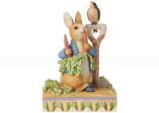 Beatrix Potter by Jim Shore: Peter Rabbit ate some radishes
