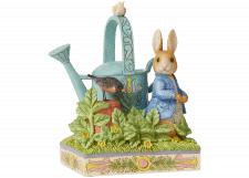 Beatrix Potter by Jim Shore: Peter Rabbit in McGregor's Garden