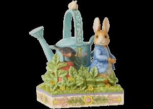 Beatrix Potter by Jim Shore: Peter Rabbit in McGregor's Garden