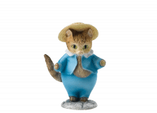 Beatrix Potter - Peter Rabbit: Tom Kitten Mini Figurine