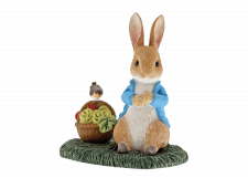 Beatrix Potter: Peter Rabbit with Basket