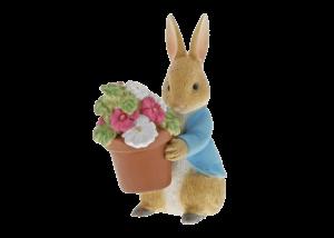 Beatrix Potter: Peter Rabbit Brings Flowers