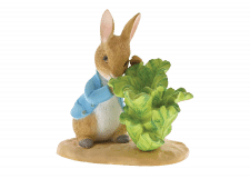 Beatrix Potter: Peter Rabbit with Lettuce