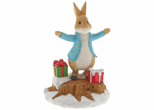 Beatrix Potter: Peter Rabbit With Presents Figurine