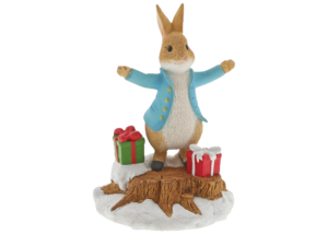 Beatrix Potter: Peter Rabbit With Presents Figurine