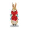 Beatrix Potter: Peter Rabbit in a Festive Scarf Figurine