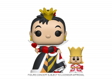 Funko Pop! Alice in Wonderland: Queen with King