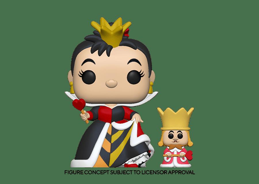 Funko Pop! Alice in Wonderland: Queen with King