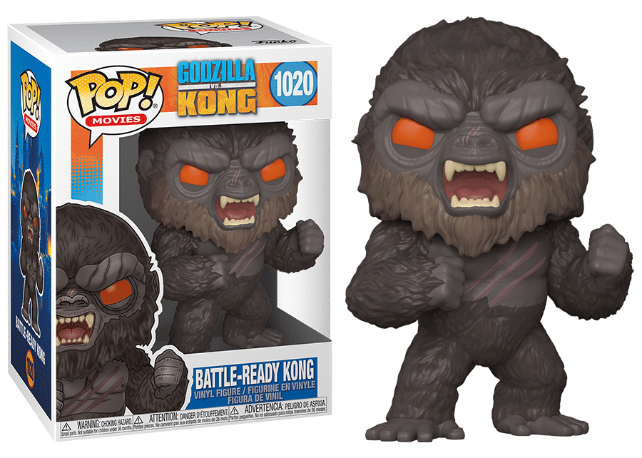 Funko Pop! Godzilla vs Kong: Battle-Ready Kong #1020
