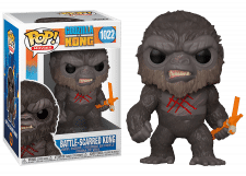 Funko Pop! Godzilla vs Kong: Battle-Scarred Kong #1022