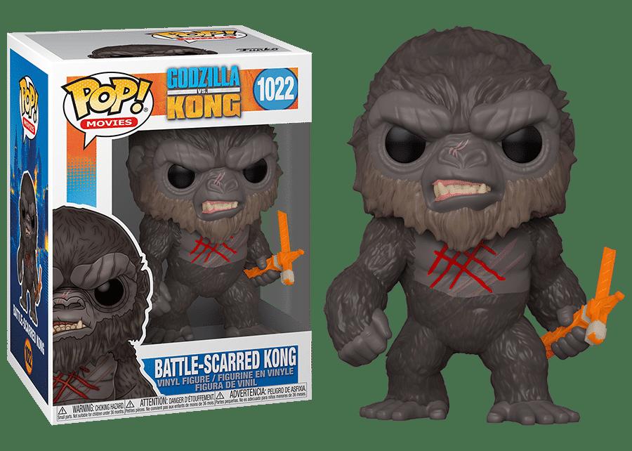 Funko Pop! Godzilla vs Kong: Battle-Scarred Kong #1022
