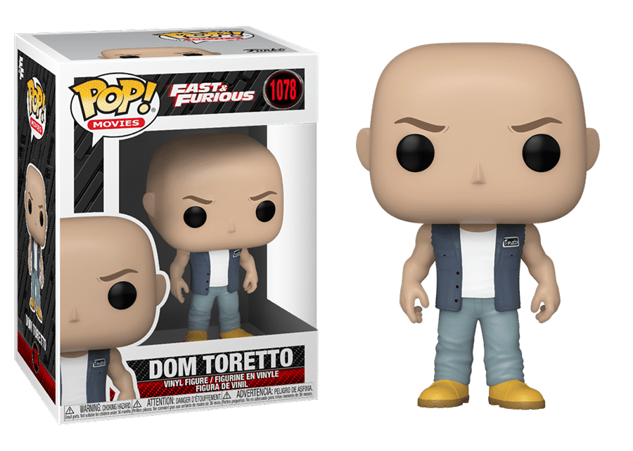 Funko Pop! Fast and the Furious 9: Dom Toretto #1078