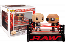 Funko Pop! WWE: The Rock vs Stone Cold in Wrestling Ring