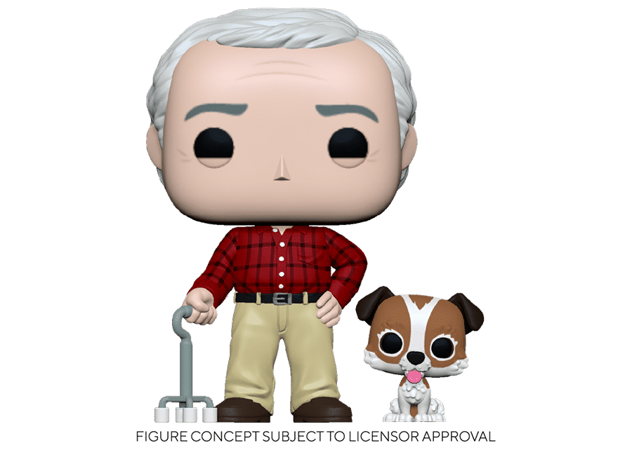 Funko Pop! Frasier: Martin Crane with Eddie