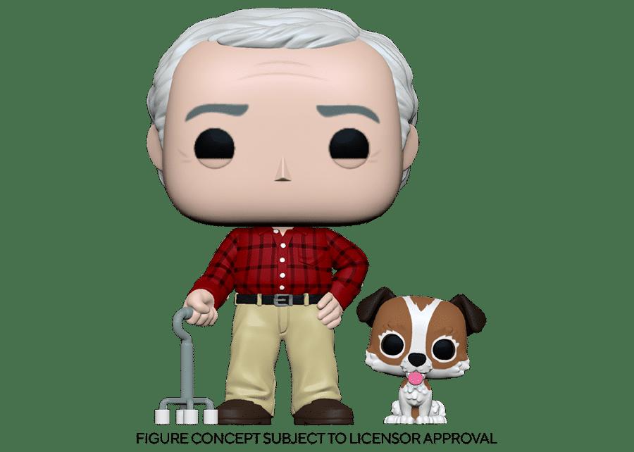 Funko Pop! Frasier: Martin Crane with Eddie