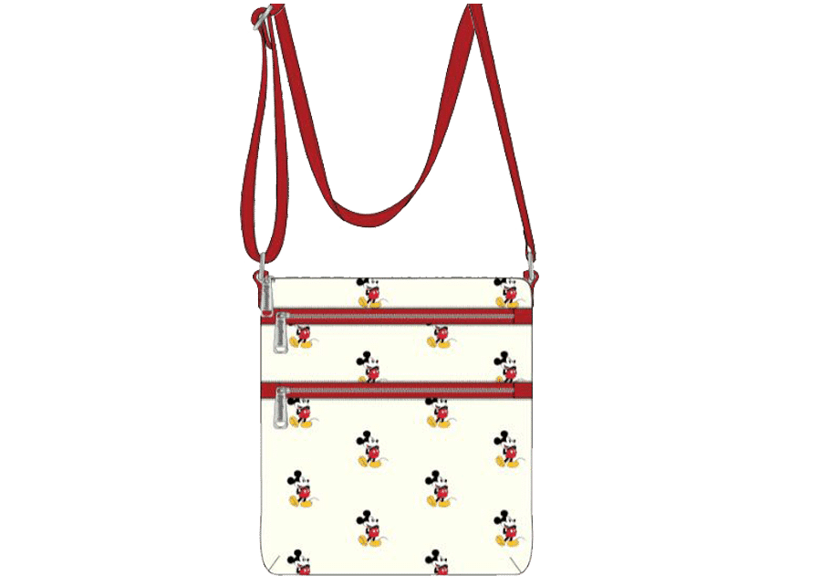 Loungefly: Mickey Mouse Passport Bag AOP (exclusive)