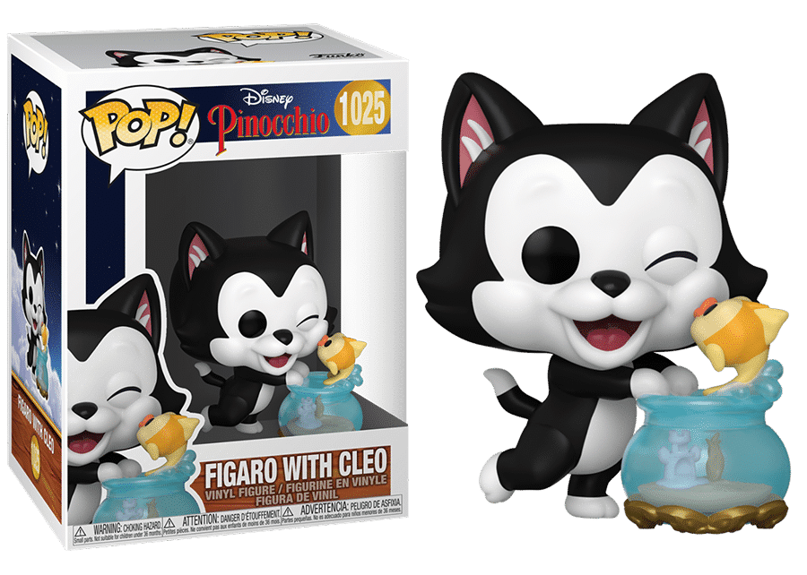 Funko Pop! Pinocchio: Figaro with Cleo #1025