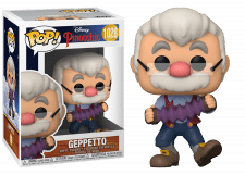 Funko Pop! Pinocchio: Geppetto with Accordion #1028