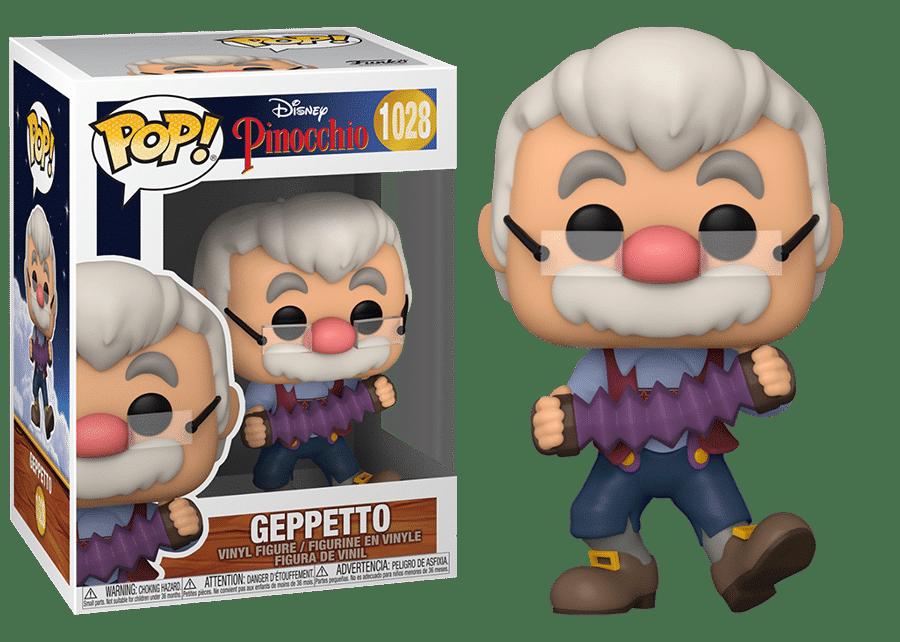 Funko Pop! Pinocchio: Geppetto with Accordion #1028