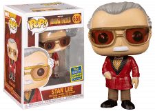 Funko Pop! Iron Man: Stan Lee #656 (Summer Convention Exclusive)