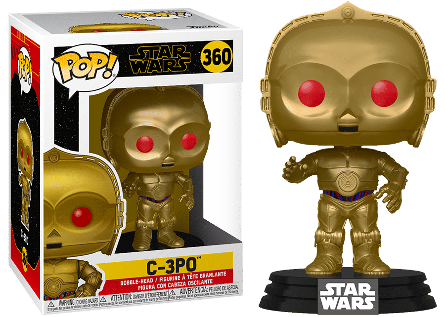Funko Pop! Star Wars: C-3PO (red eyes) #360