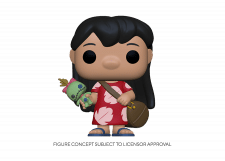 Funko Pop! Lilo and Stitch: Lilo with Scrump