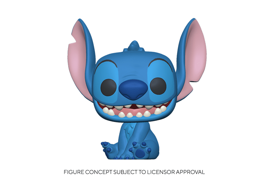 Funko Pop! Lilo and Stitch: Smiling Seated Stitch