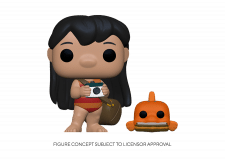 Funko Pop! Lilo and Stitch: Lilo with Pudge