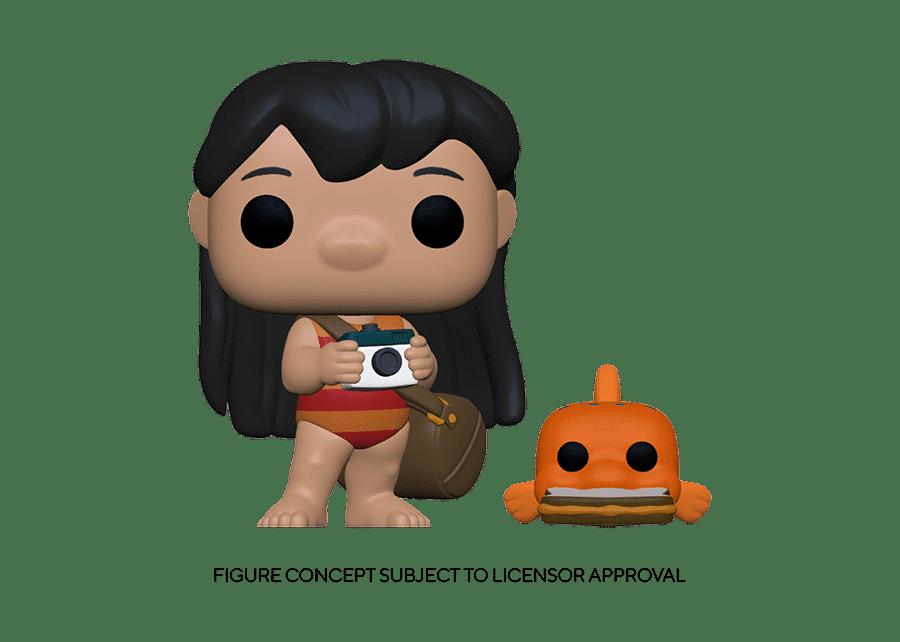 Funko Pop! Lilo and Stitch: Lilo with Pudge