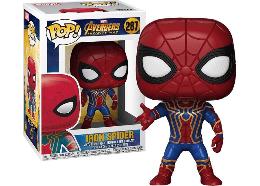 Funko Pop! Avengers Infinity War: Iron Spider #287