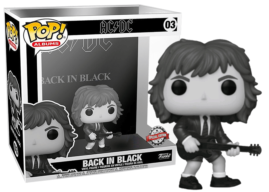 Funko Pop! Albums: AC/DC - Back in Black (BW) #03