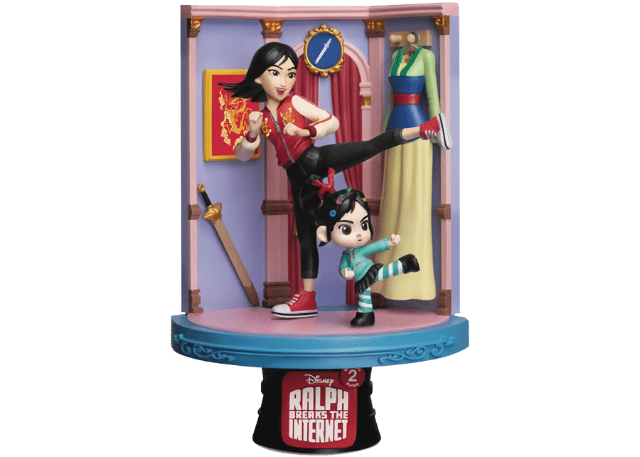 D-Stage: Ralph Breaks the Internet - Vanellope and Mulan