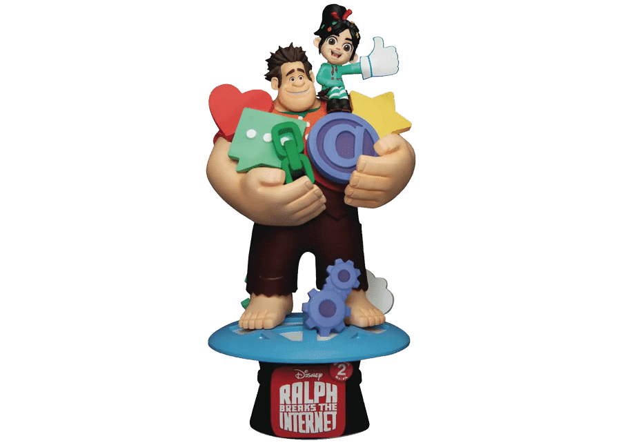 D-Stage: Ralph Breaks the Internet - Vanellope and Ralph