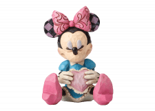Disney Traditions: Minnie Mouse with Heart Mini Figurine