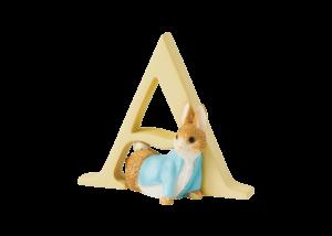 Peter Rabbit Alphabet Letters: A - Peter Rabbit