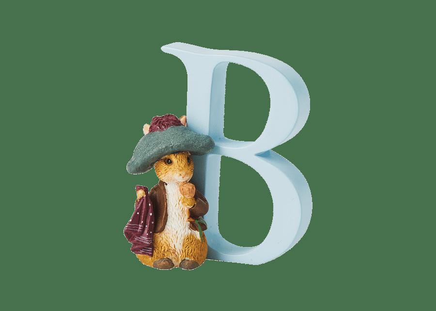 Peter Rabbit Alphabet Letters: B - Benjamin Bunny