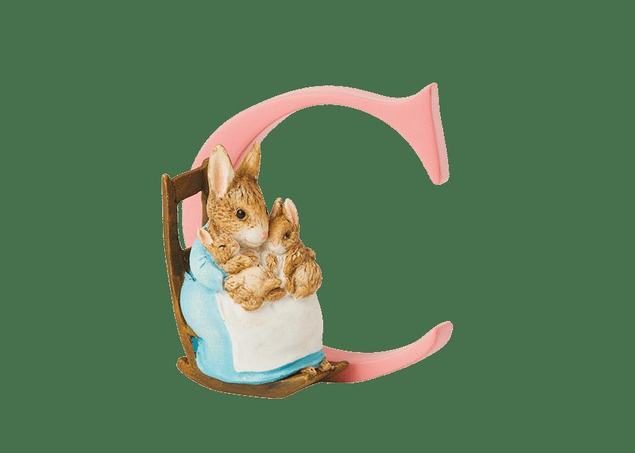 Peter Rabbit Alphabet Letters: C - Mrs. Rabbit and Bunnies
