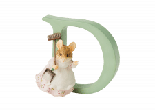 Peter Rabbit Alphabet Letters: D - Hunca Munca Sweeping