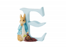 Peter Rabbit Alphabet Letters: E - Peter Rabbit with Onions