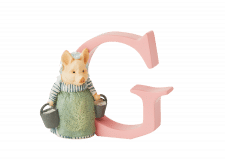 Peter Rabbit Alphabet Letters: G - Aunt Pettitoes
