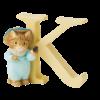 Peter Rabbit Alphabet Letters: K - Tom Kitten