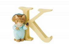 Peter Rabbit Alphabet Letters: K - Tom Kitten
